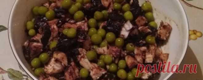 Салат с черносливом - Диетический рецепт ПП с фото и видео - Калорийность БЖУ