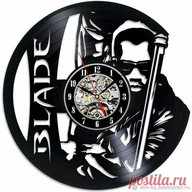 Часы настенные BLADE – купить в интернет-магазине на Ярмарке Мастеров с доставкой Часы настенные BLADE - купить или заказать в интернет-магазине на Ярмарке Мастеров | Часы изготовлены из старых виниловых пластинок.