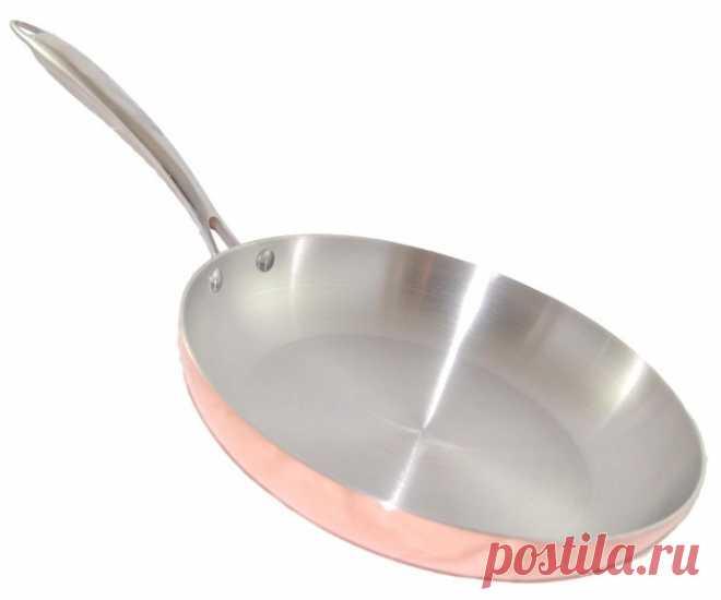 5 советов для очистки сковороды от нагара