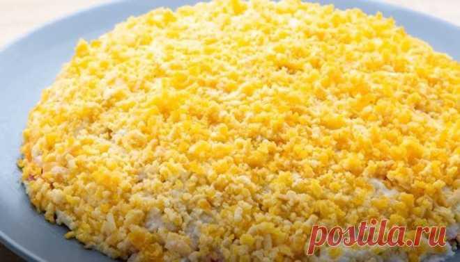 Салат Ландыш с Крабовыми Палочками Рецепт Слоями Салат Ландыш с крабовыми палочками и яблоком - рецепт слоями. Это вкусный, весенний салатик, приготовить его вы сможете буквально за 10 минут.