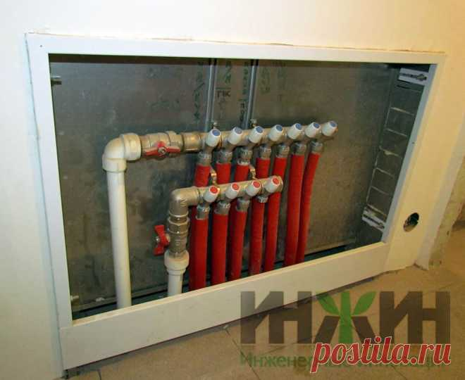 Монтаж коллектора водопровода, фото 127