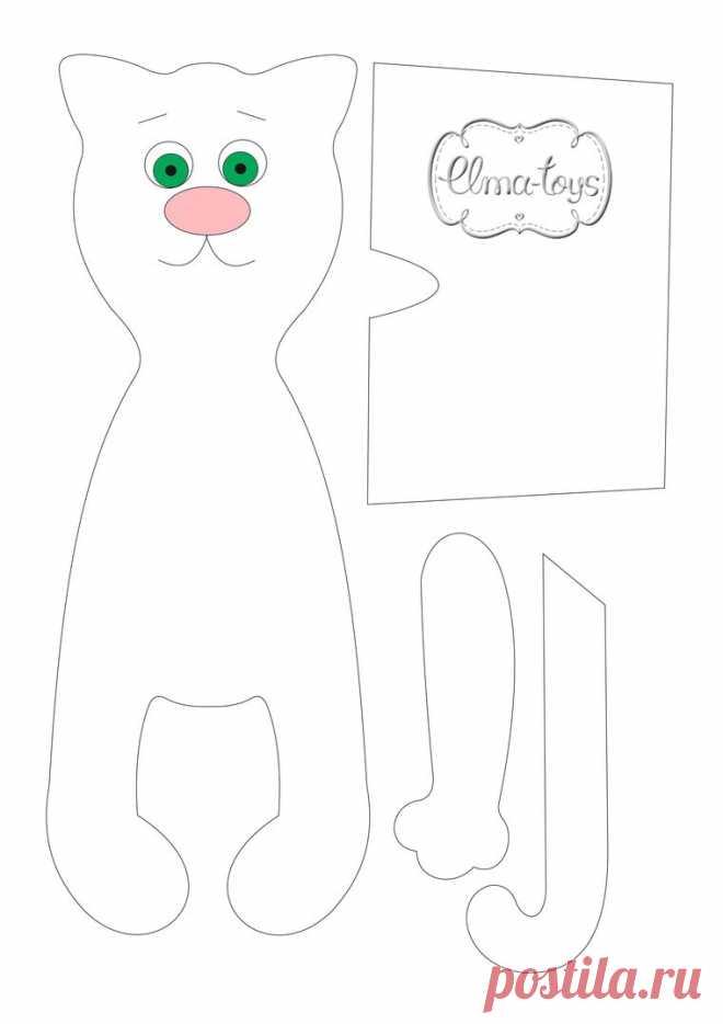 304e979434d Видео мастер-класс  как сшить кота. Урок 1  шьем тело