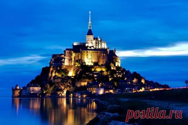 «Мон-Сель-Мишель в Нормандии. Замок Рапунцель» — карточка пользователя SilverSoulRain в Яндекс.Коллекциях