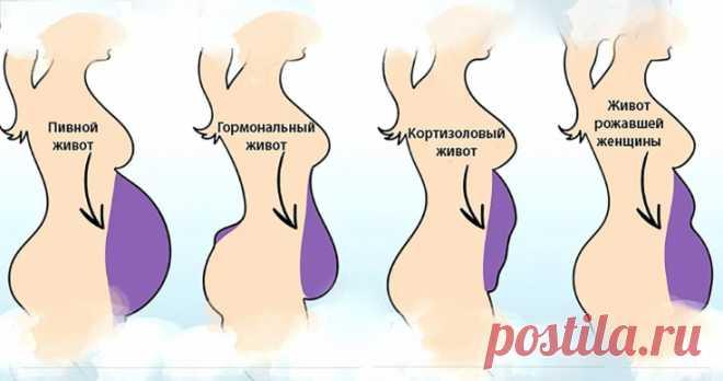 Кортизоловый живот — жир, который накопился в результате стресса. Как от него избавиться?