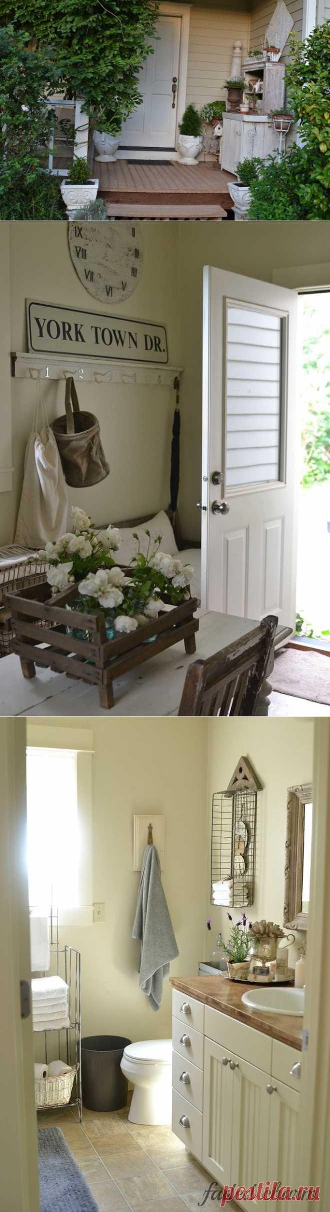 Интерьер дома - Faded Charm cottege.