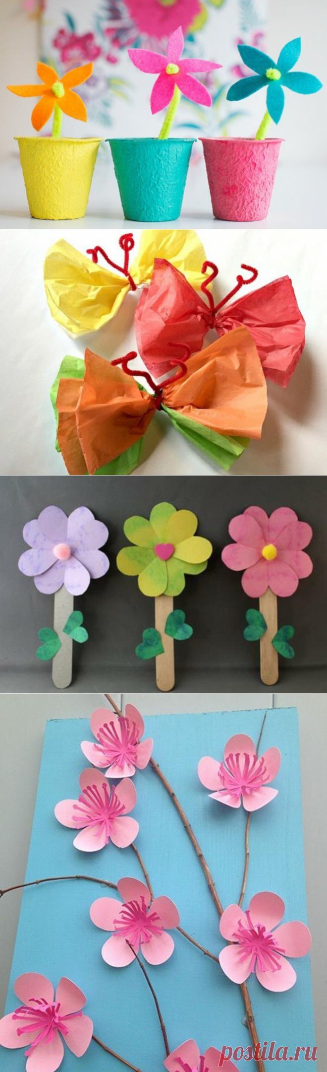 Идеи весенних поделок