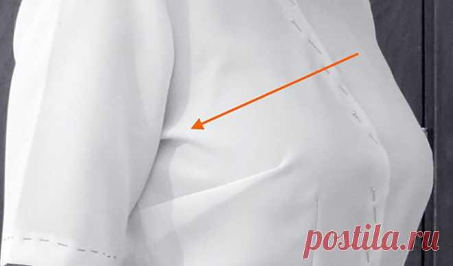 Швейные секреты: как убрать заломы в области проймы — Мир интересного