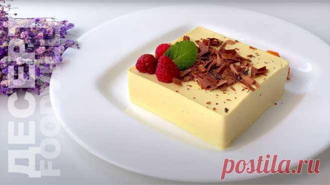 Нежный десерт за 10 минут без муки и крахмала | FOODVILLE - кулинарный блог | Пульс Mail.ru Заварная основа готовится минут 5, а остальные ингредиенты нужно просто смешать. Никакой муки и даже духовка не потребуется.