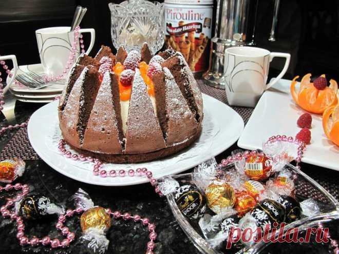 """El milagro-tortik """"Килиманджаро"""" \u000d\u000aA primera vista la torta se ve difícil, pero esto no así. Hacerlo rápidamente y con interés. Y él muy sabroso."""