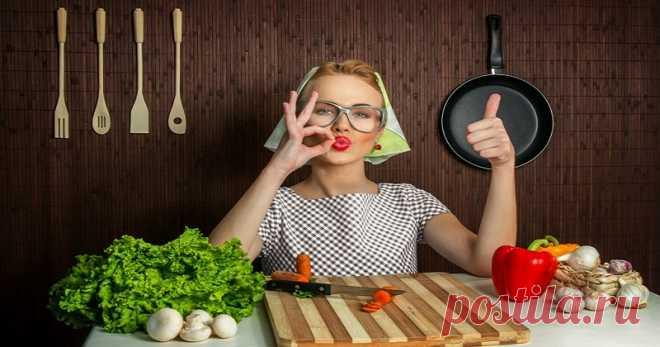 10 хитрых кухонных секретов, о которых не знает даже ваша мама.