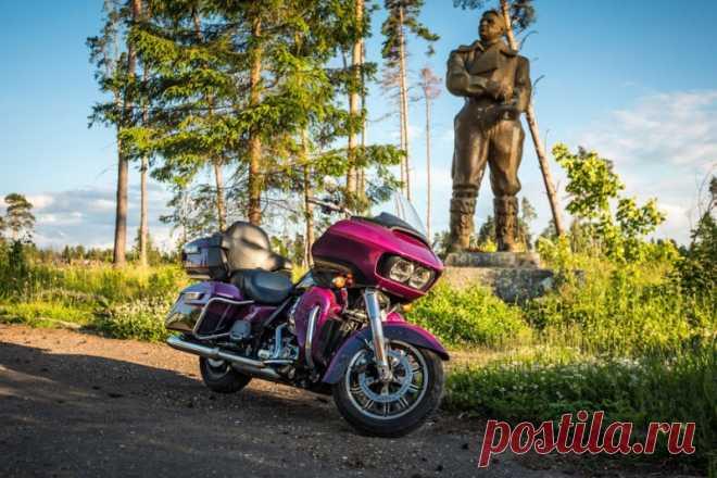 Тест-драйв мотоцикла Harley-Davidson Road Glide — Cartonka