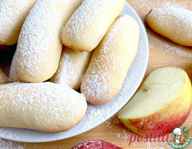 Трубочки на кефире с сахаром и корицей – кулинарный рецепт