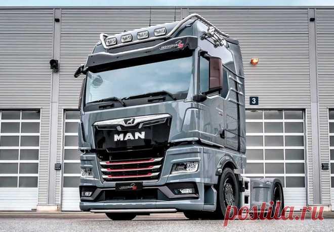 Новый MAN TGX Individual Lion S 2021 видео экстерьер, интерьер и описание