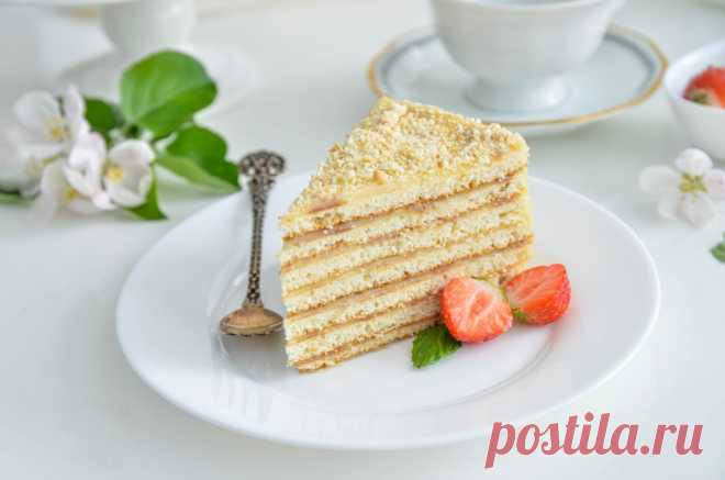 Знаменитый Торт Проще простого на скорую руку рецепт с фото пошагово и видео - 1000.menu