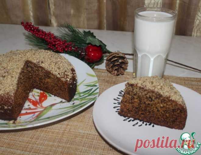 Медовый пирог на кефире – кулинарный рецепт