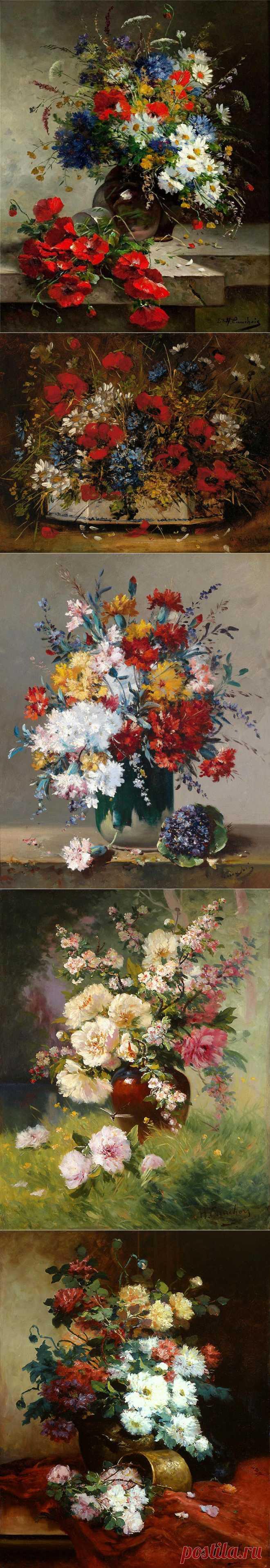 Французский художник Eugene Henri Cauchois (1850-1911)