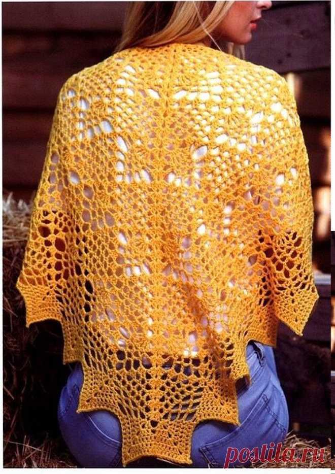 булавочка пряжа и товары для вязания шали постила