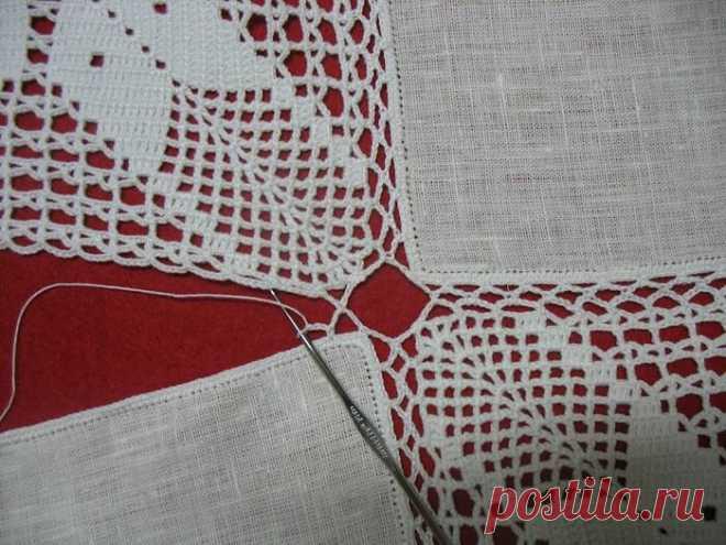 И снова вязание + ткань! Очень интересные варианты - полюбуйтесь! | Вяжем, лепим, творим, малюем) | Яндекс Дзен