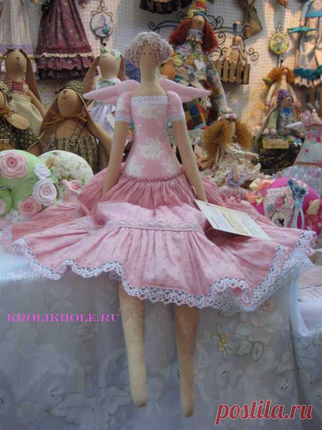 Формула рукоделия. Розовый ангел