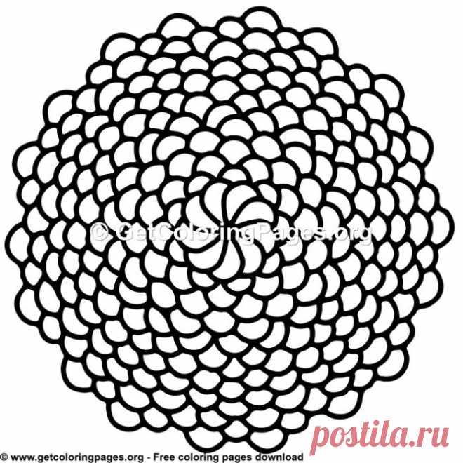 Vintage Mandala 6 Coloring Pages – GetColoringPages.org