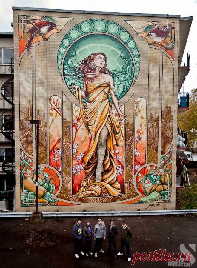 Street Art Nouveau – Nice Fucking Graphics!