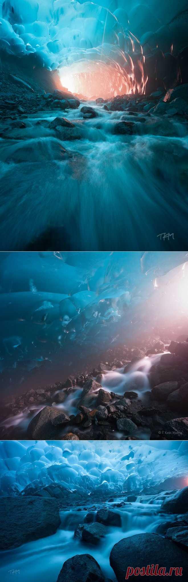 Лучшие фотографии со всего света - Фантастические миры в глубинах ледника Менденхолл