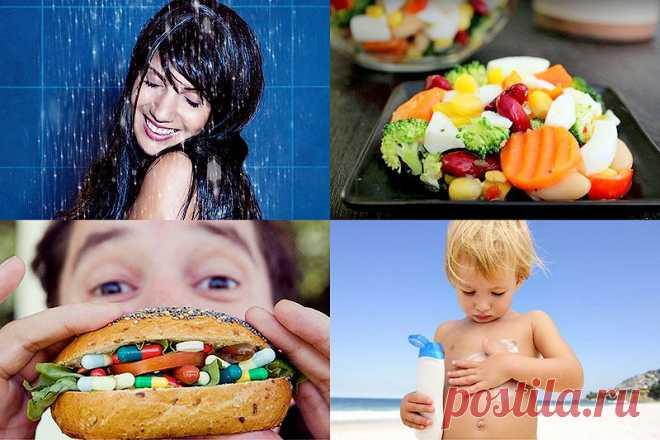 Полезные советы, чтобы быть здоровым : НОВОСТИ В ФОТОГРАФИЯХ