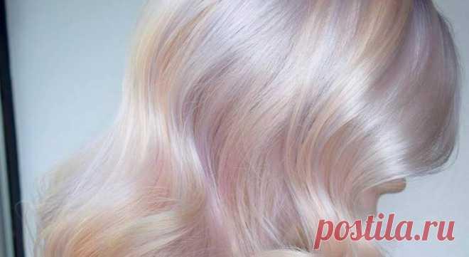 Los cabellos opalinos — el nuevo tipo de la coloración y la tendencia principal de 2018 — el Mundo interesante