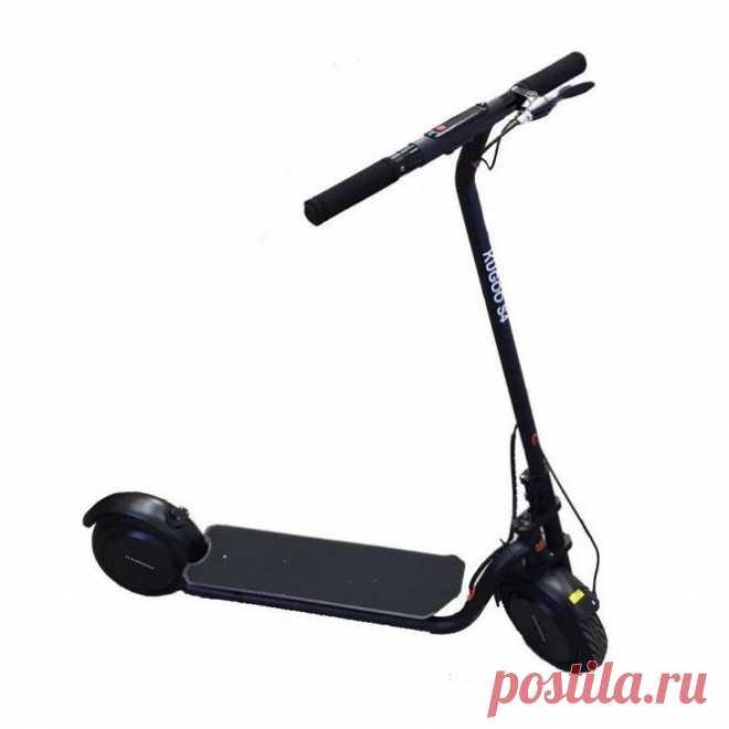 Электросамокат Kugoo S4 11 Ah JILONG (черный) - характеристики фото купить цена в Минске