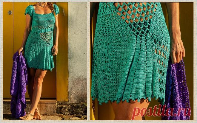Шелковое великолепие волшебных нарядов, связанных крючком из шелковой пряжи, от бразильского модельера Vanessa Montoro   МНЕ ИНТЕРЕСНО   Яндекс Дзен