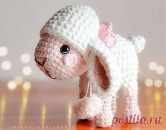 Маленький барашек: вязание крючком | Рекомендательная система Пульс Mail.ru