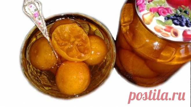 Мандариновое варенье - старый грузинский рецепт / Tangerine jam - old Georgian recipe