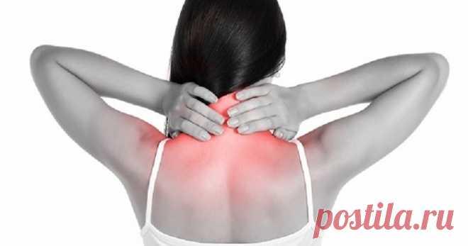 Компрессы для уменьшения боли в области шеи