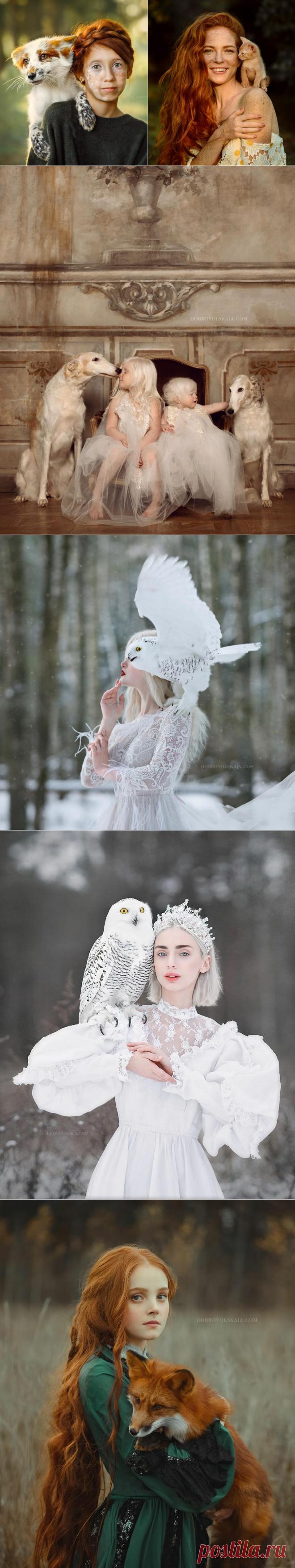 Уникальная связь людей и животных: 45 потрясных снимков российского фотографа