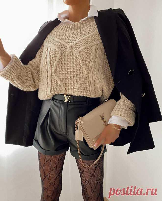 Вязаная одежда становится модным трендом – что надеть, чтобы выглядеть стильно   Рекомендательная система Пульс Mail.ru