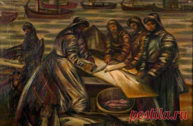Поморы: традиции, обычаи, фольклор, промыслы, картины, сказка про поморов.