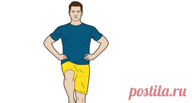 Китайское упражнение от тысячи болезней Китайское упражнение «Золотой петух», где нужно стоять на одной ноге, влияет на многие функции организма, поэтому его еще называют эликсиром от 1000 болезней.