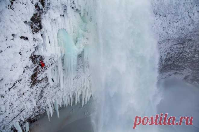 Царство льдов: семь самых холодных и фантастических водопадов
