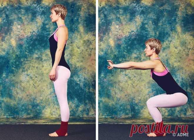 9 упражнений, которые преобразят тело за 10 минут в день
