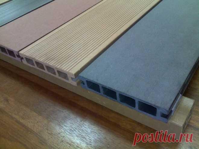 О террасной доске из древесно-полимерного композита   Журнал