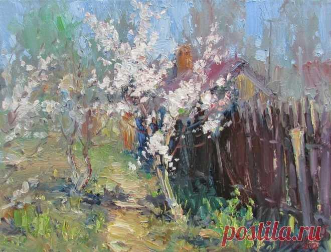 Купить картину «Абрикос» у художника Юрия Демьянова – DEMIYANOV.ART