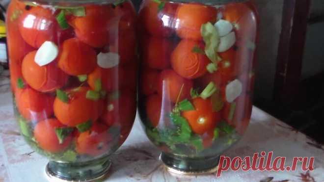 Консервированные помидоры с виноградом: необычное сочетание — Бабушкины секреты