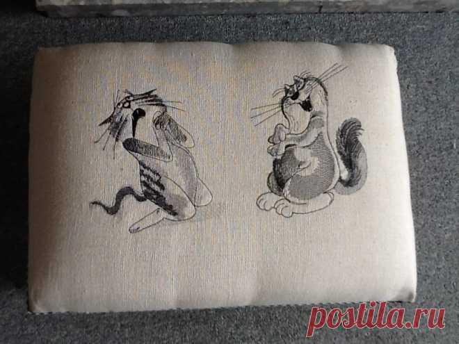 Sneaky cat бесплатно дизайн машинной вышивки
