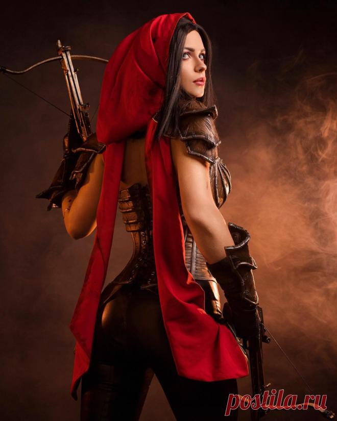 Diablo 3 - Горячая Охотница на Демонов в исполнении Ирины Мейер