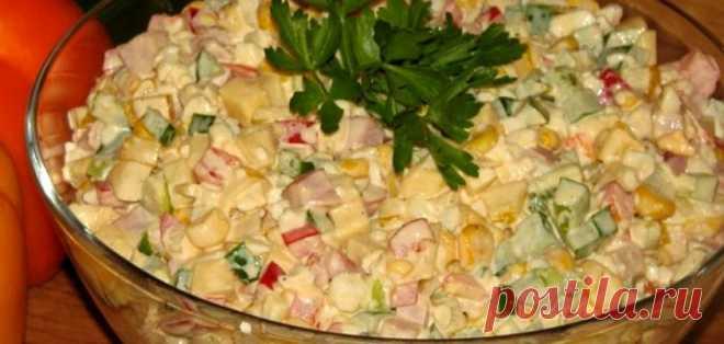 Легкий и сытный салат «Аленушка»: сказочное наслаждение в каждой ложке - Счастливые заметки