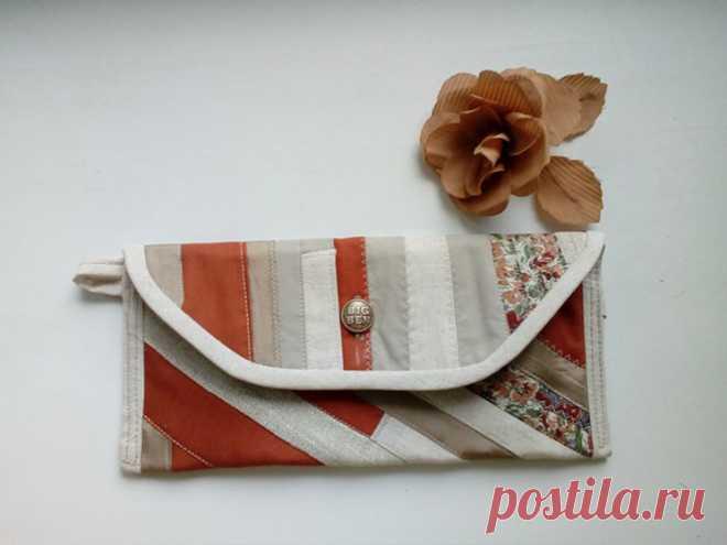Маленькая сумочка в стиле пэчворк (ИДЕИ ДЛЯ ВДОХНОВЕНИЯ) – Журнал Вдохновение Рукодельницы