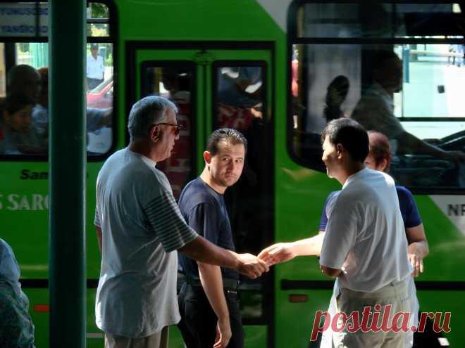 Tashkent stops