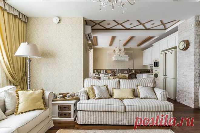 Квартира с интерьером в стиле прованс
