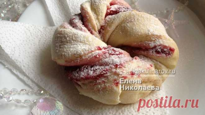 Cranberry venochka - the recipe step-by-step with a photo