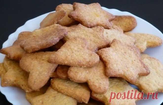 Арахисовое песочное печенье - пошаговый рецепт с фото